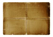 Grunge alienated paper design Royalty Free Stock Image