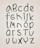 Grunge alphabet Stock Photos