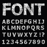 Grunge  Alphabet. Stock Photography