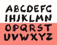 Grunge Alphabet Stock Photo