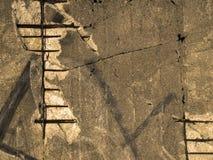 Grunge, alte Wand Lizenzfreie Stockfotografie