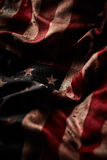 Grunge american flag background Stock Photos