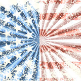 Grunge American flag background. Vector illustration Royalty Free Stock Image