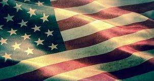 Grunge American USA flag Stock Photo