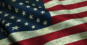 Grunge American USA flag Stock Photo