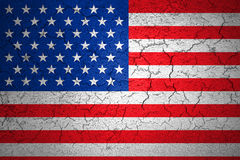 Grunge American USA flag Royalty Free Stock Photography