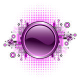 Grunge & tecla alta tecnologia do vetor. Foto de Stock Royalty Free