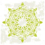 Grunge ancient pattern stock illustration