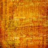 Grunge ancient used paper Royalty Free Stock Photography