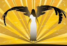 Grunge Angel Stock Image