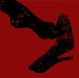 Grunge Ankle Royalty Free Stock Image