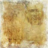Grunge antik Egypten bakgrund vektor illustrationer