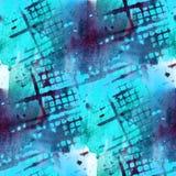 Grunge antyczny ornament rysuje usa kolorowych Zdjęcie Stock