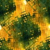 Grunge antyczny ornament rysuje usa kolorowych Fotografia Stock