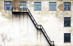 Grunge architecture Stock Image