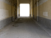 Grunge archway Stock Images