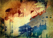 Grunge art background. Abstract grunge art background, illustration Royalty Free Stock Photo