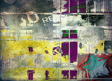 Grunge art background. Abstract grunge art background, illustration Stock Images