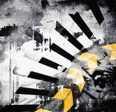 Grunge art background Stock Image