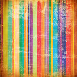 Grunge Art: gemalte Zeilen mit Flecken stock abbildung