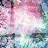 Grunge art style  textured  digital background Royalty Free Stock Photo