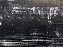 Grunge artistic abstract black background. With white blots Stock Photo