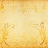 Grunge artistic floral. Floral design on grungy background vector illustration