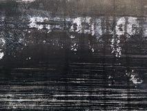 Grunge artistieke abstracte zwarte achtergrond Stock Foto