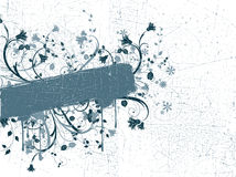 Grunge astratto illustrazione di stock