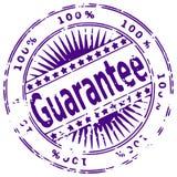 grunge atramentu gwarancji pieczęć