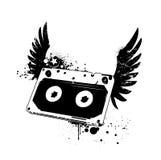 Grunge audio tape Royalty Free Stock Photography