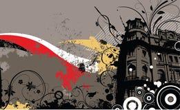 Grunge Auslegung-Hintergrund Stockbilder