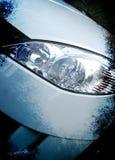 Grunge Autohintergrund Stockbild