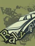 Grunge Automotive Background Royalty Free Stock Image
