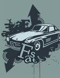 Grunge Automotive Background Royalty Free Stock Photo