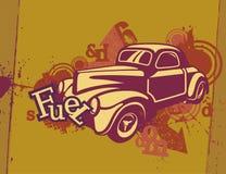 Grunge Automotive Background Royalty Free Stock Images