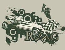 Grunge Automotive Background Royalty Free Stock Photography