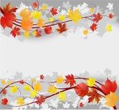 Grunge autumn background Stock Photography