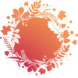 Grunge autumn banner Royalty Free Stock Image