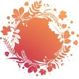 Grunge autumn banner. Illustration royalty free illustration