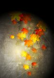 Grunge autumn vector background Royalty Free Stock Photo