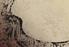 Grunge background. Grunge style ornamented background Royalty Free Stock Photography