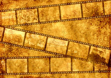 Grunge background. Symbolical the image of a filmstrip Stock Photography
