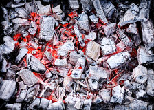 Grunge background. Burn, campfire, charcoals, coal stock photo