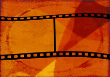 Grunge background. Computer designed grunge film frame background Royalty Free Stock Images