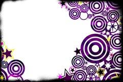 Grunge Background. Purple/yellow grunge fashion inspired background Royalty Free Stock Images