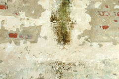 Grunge background. Grunge wall. Picture was taken inside old church in Croatia. Lightning was natural Stock Image