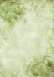 Grunge background. A grunge background design with swirls, floral patterns, brush strokes and paint splatters Stock Photo