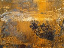 Grunge background. Old and rusty metallic surface Royalty Free Stock Image