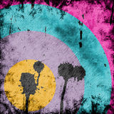 Grunge background. With abstract paint stains Royalty Free Stock Photos